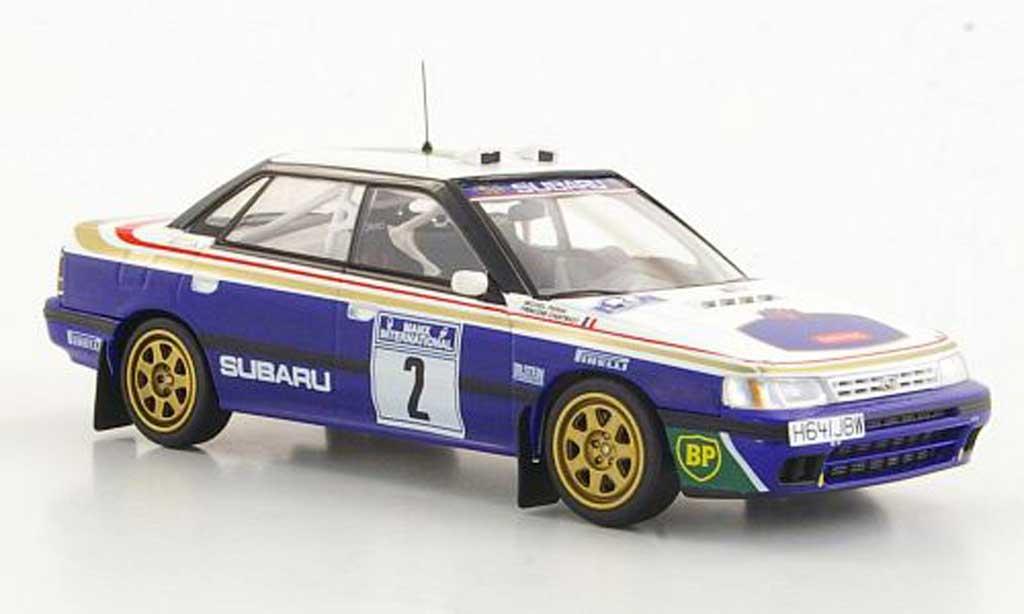 Subaru Legacy RS 1991 1/43 HPI No.2 F.Chatriot / M.Perin Manx Rally 1991 miniature
