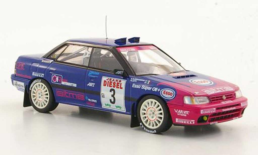 Subaru Legacy RS 1993 1/43 HPI No.3 P.Liatti / A.Alessandrini Rally Sanremo miniature