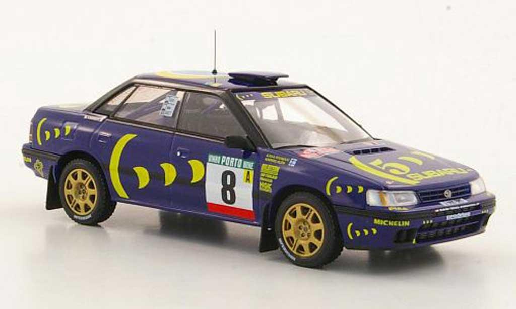 Subaru Legacy RS 1993 1/43 HPI No.8 M.Alen / I.Kivimaki Rally Portugal miniature