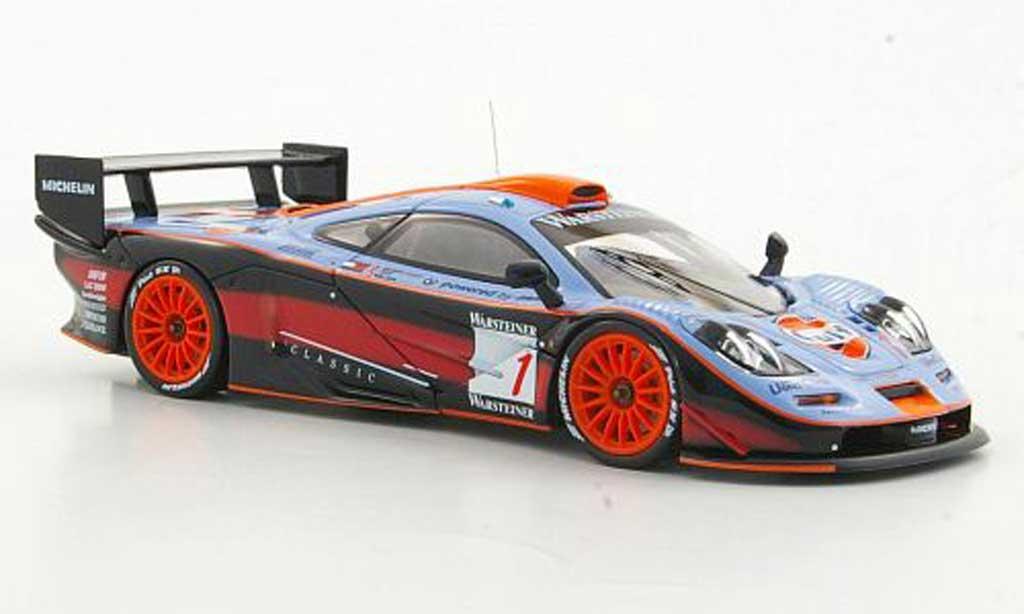 McLaren F1 1/43 HPI GTR No.1 Gulf A.G.Scott / G.Lees / J.Nielsen Suzuka 1997 miniature