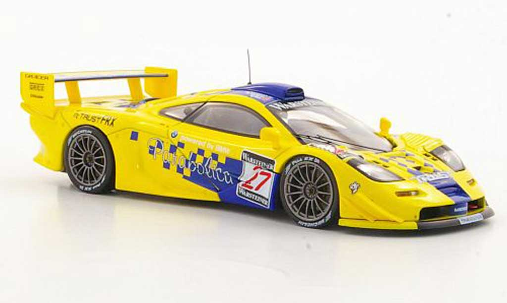McLaren F1 1/43 HPI GTR No.27 S.Johansson / G.Ayles / C.Goodwin Suzuka 1997 miniature