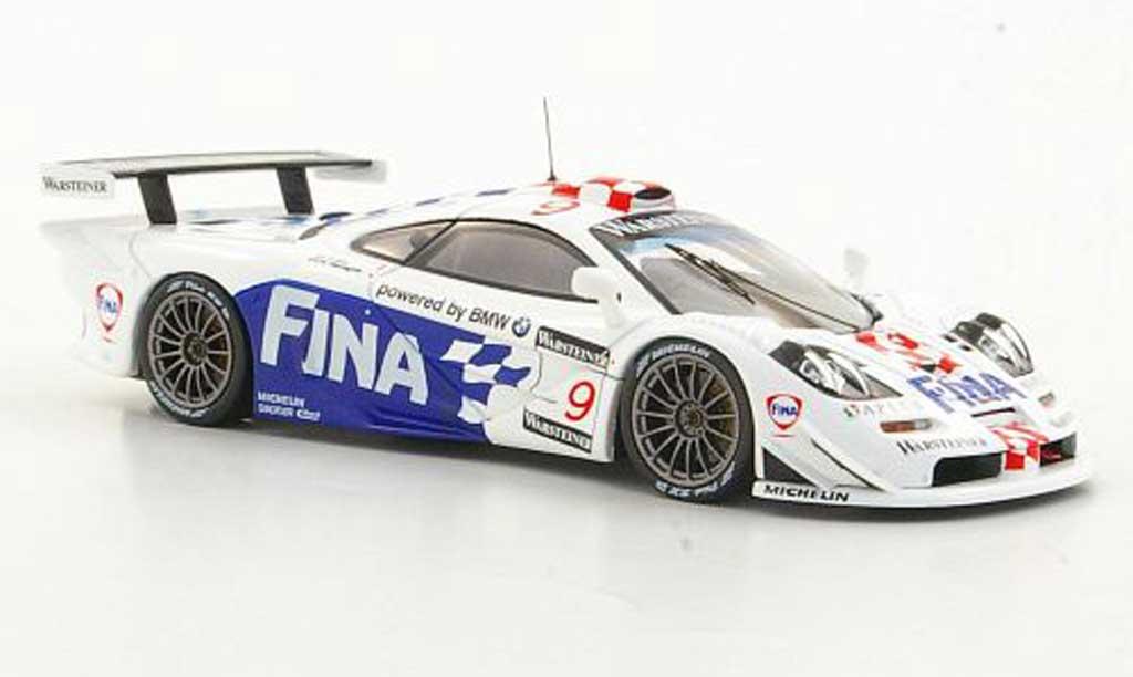 McLaren F1 1/43 HPI GTR No.9 Team Bmw Motorsport P.Kox / R.Ravaglia Suzuka 1997 miniature
