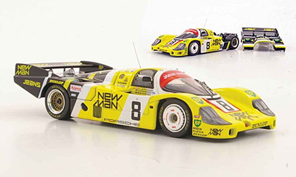 Porsche 956 1984 1/43 HPI LH No.8 New Man J.L.Schlesser / S.Johansson / M.de Narvaez 24h Le Mans miniature