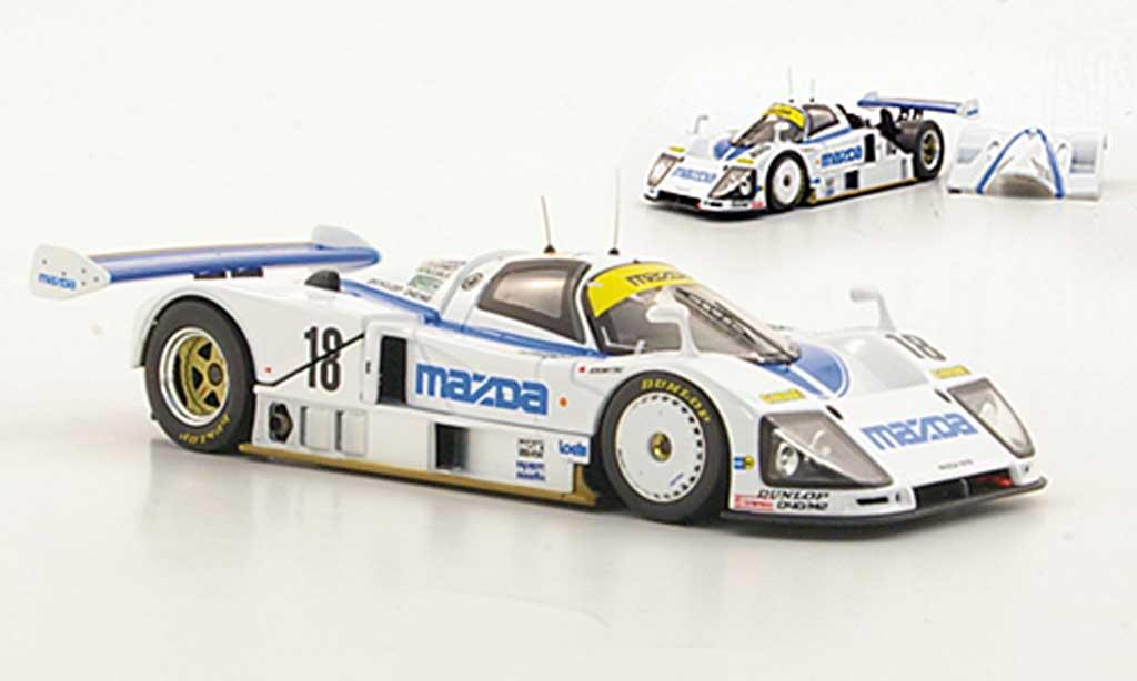 Mazda 787B 1/43 HPI No.18 D.Kennedy / S.Johansson / M.S.Sala 24h Le Mans 1991 miniature