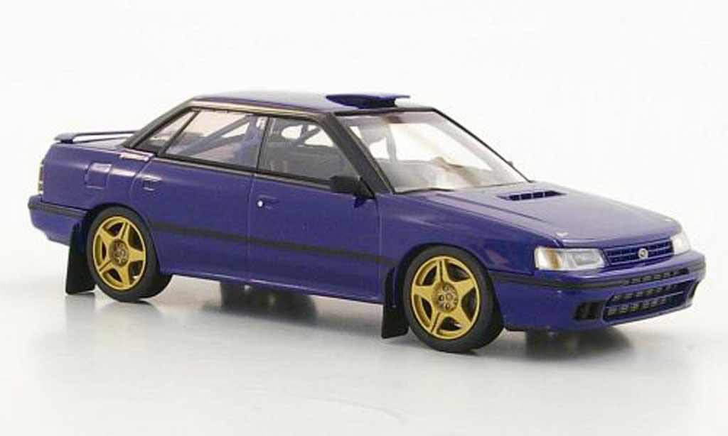 Subaru Legacy 1/43 HPI Gr.A bleu miniature