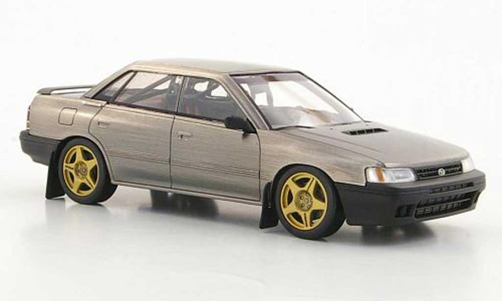 Subaru Legacy 1/43 HPI polierte Metalloptik miniature