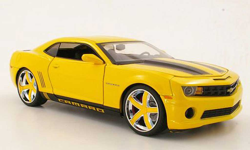 chevrolet camaro ss rs gelb schwarz 2010 jada toys. Black Bedroom Furniture Sets. Home Design Ideas