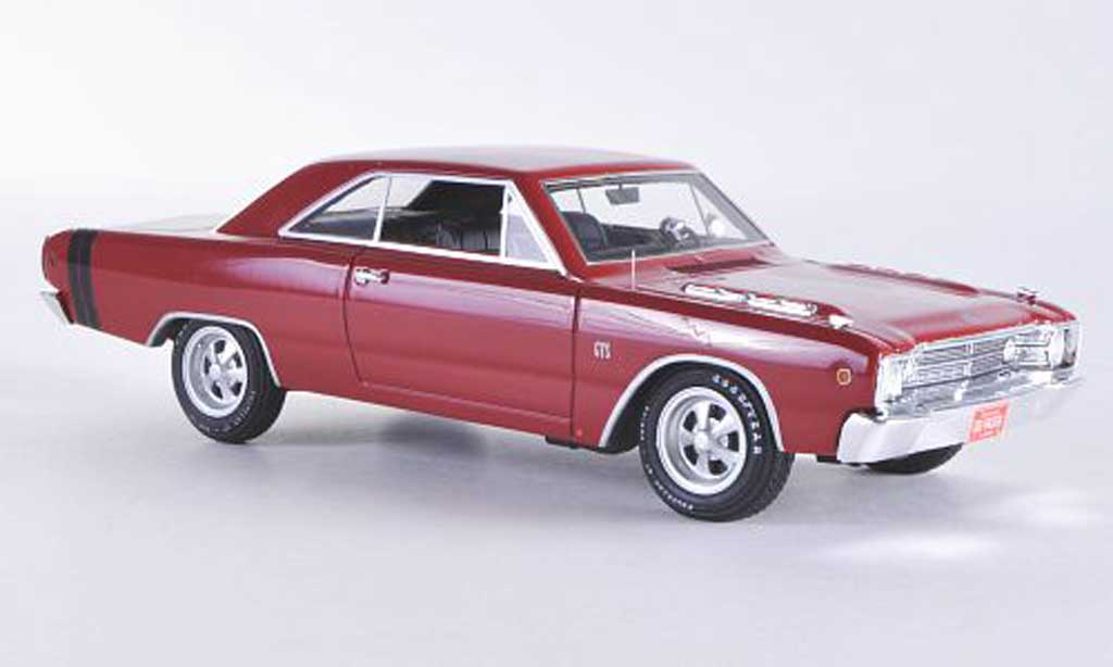 Dodge Dart 1968 1/43 Highway 61 GTS red/black diecast model cars