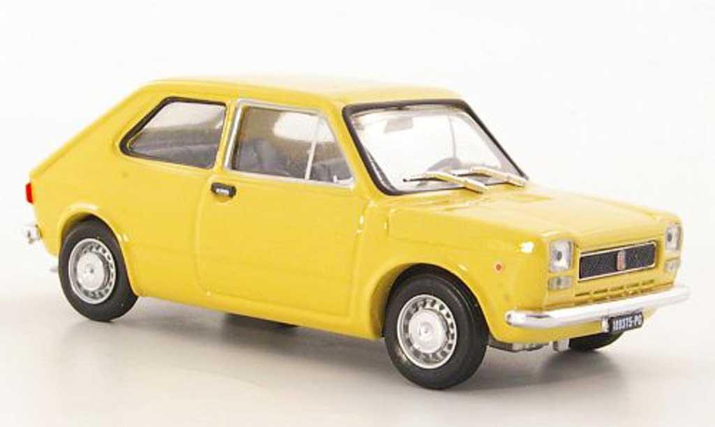 Fiat 127 1/43 Brumm beige 1971 miniature