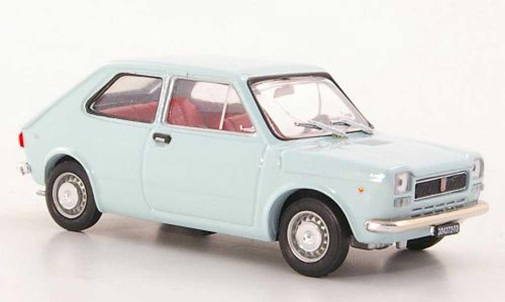 Fiat 127 1/43 Brumm bleu 1971 miniature