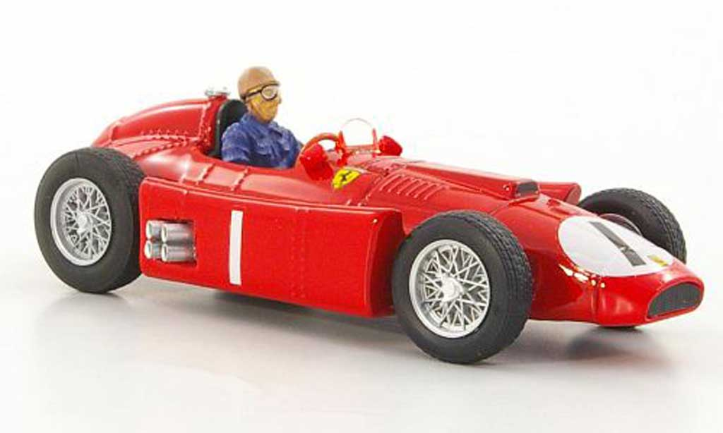 Ferrari D50 1/43 Brumm No.1 J.M.Fangio GP Grossbritannien 1956 miniature