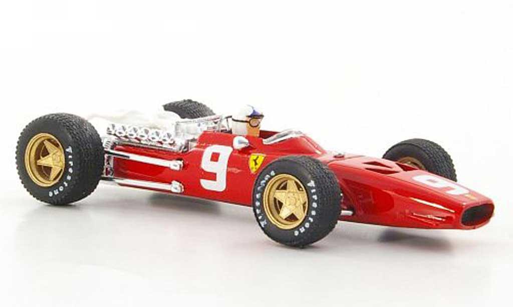 Ferrari 312 F1 1/43 Brumm No.9 C.Amon GNiederlande 1968 modellino in miniatura