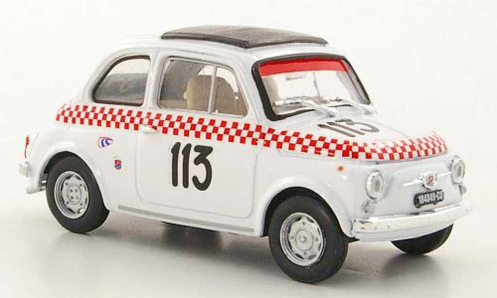 Fiat 500 1/43 Brumm Giannini TV No.113 Scuderia deLario B.Dosi Trofeo VaCamonica 1969 diecast model cars