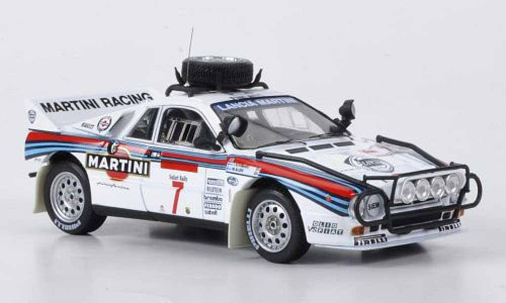Lancia 037 1/43 HPI Rally No.7 Martini Alen/Kivimaki Safari Rally 1984 miniature