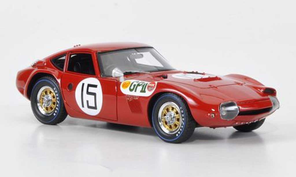 Toyota 2000 GT 1996 1/43 HPI No.15 S.Hosoya GP II Japan miniature