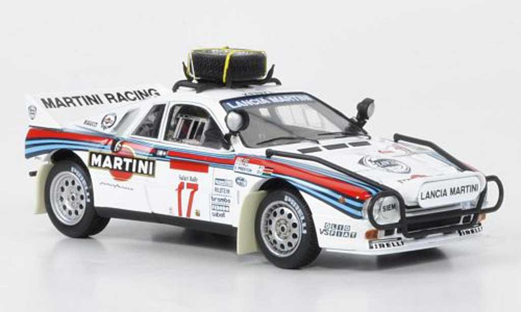 lancia 037 rally no.17 martini safari rally 1984 hpi modellauto 1/43