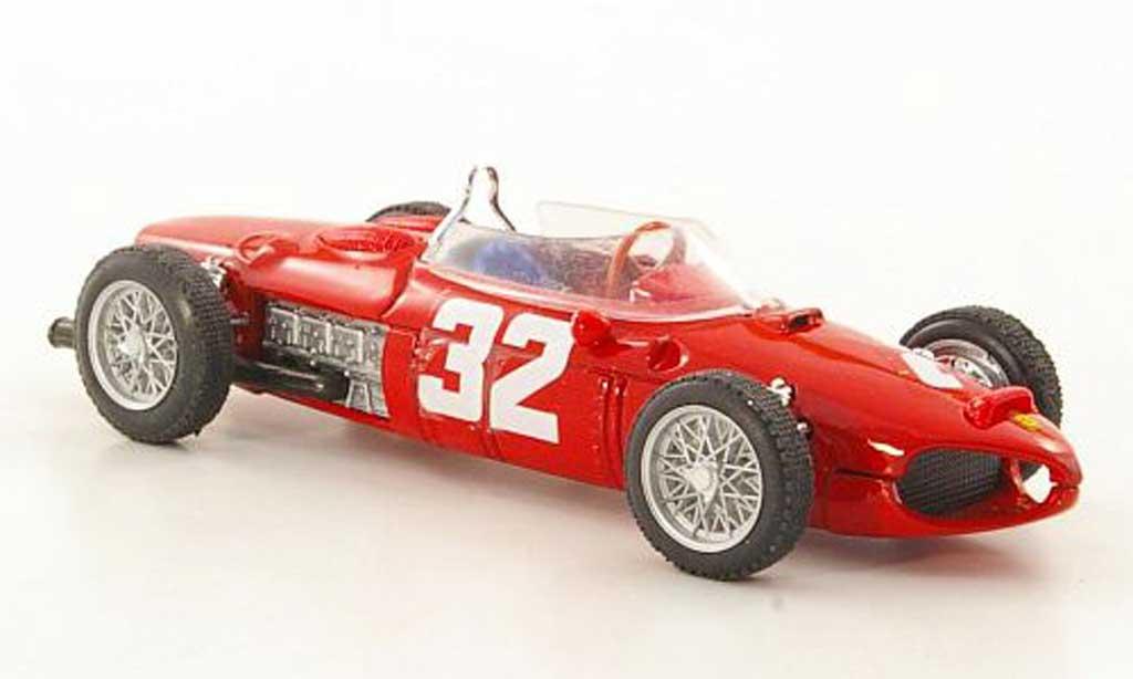 Ferrari 156 1961 1/43 Brumm F1 No.32 Scuderia Sant'Ambroeus G.Baghetti GP Italien miniature