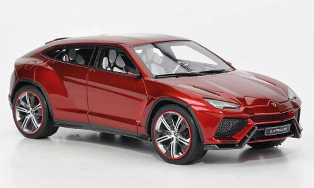 Lamborghini Urus 1/43 Look Smart rouge Motorshow Peking 2012 miniature