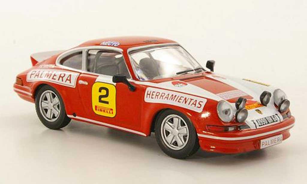 Porsche 996 1/43 Hachette 930 911 Carrera No.2 M.Etchebers / M.C.Etchebers Rally 2000 Virajes 1974 miniature
