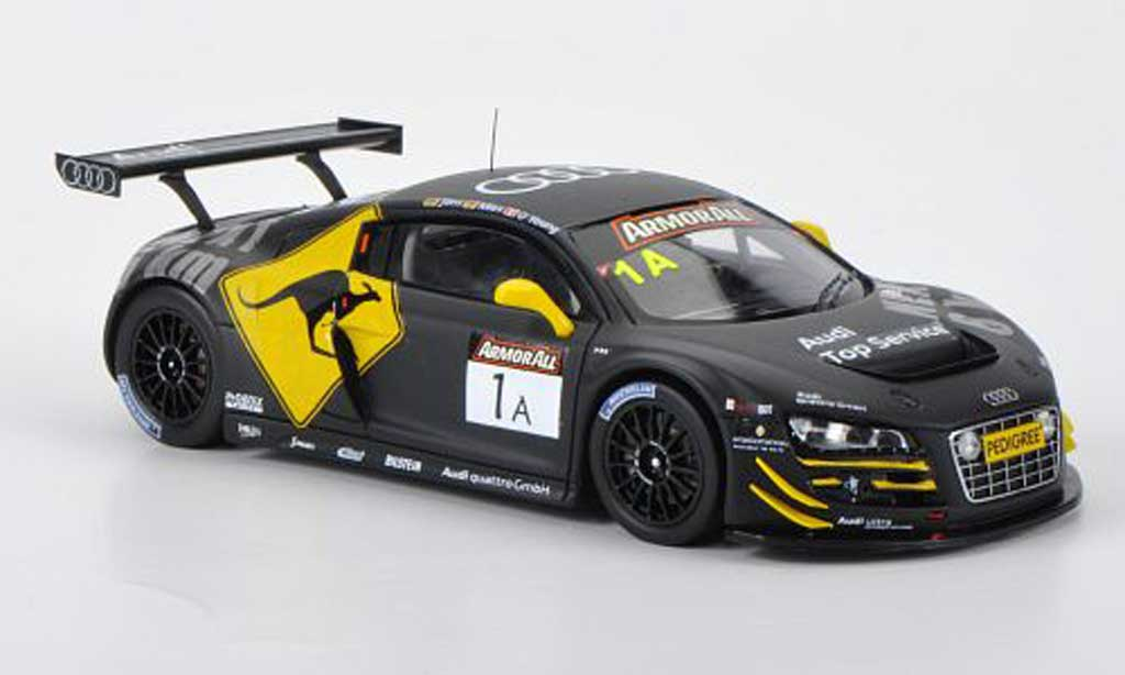 Audi R8 LMS 1/43 Spark No.1 Phoenix Racing C.Mies / D.O'Young / C.Jons 12h Bathurst 2012 modellino in miniatura