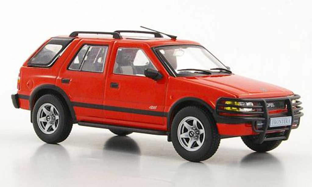 Opel Frontera 1/43 Hachette A rouge (ohne Magazin) 1991 miniature