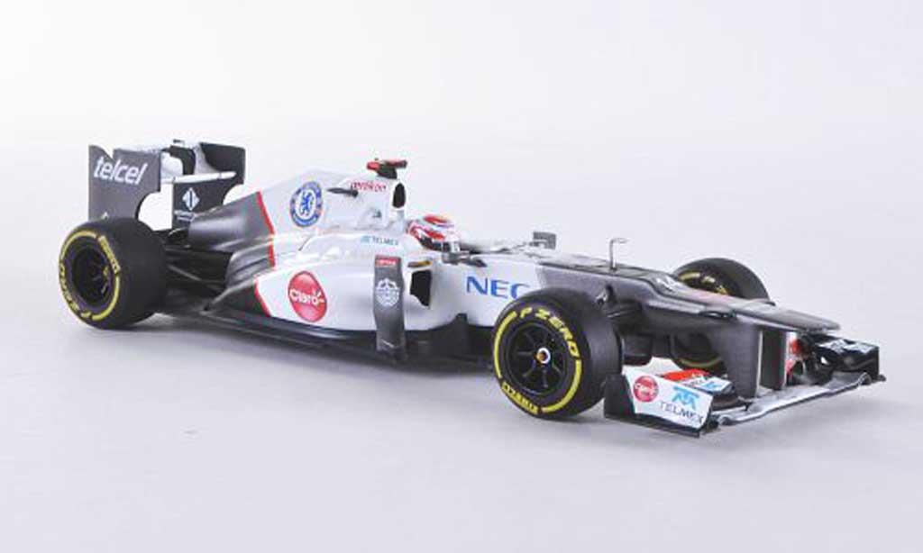 Sauber F1 2012 1/43 Minichamps C31-Ferrari No.14 K.Kobayshi -Saison coche miniatura