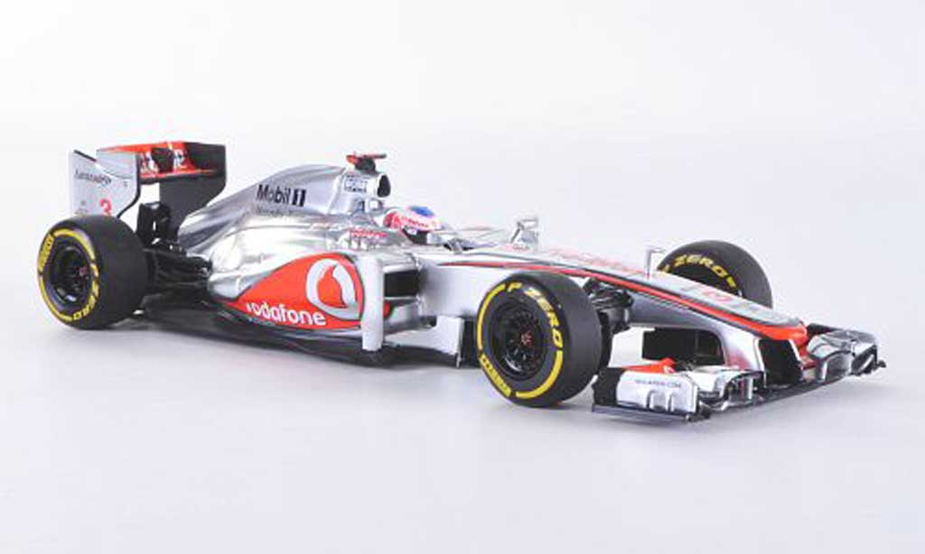 McLaren F1 2012 1/43 Minichamps Mercedes MP4-27 No.3 Vodafone J.Button F1-Saison miniature