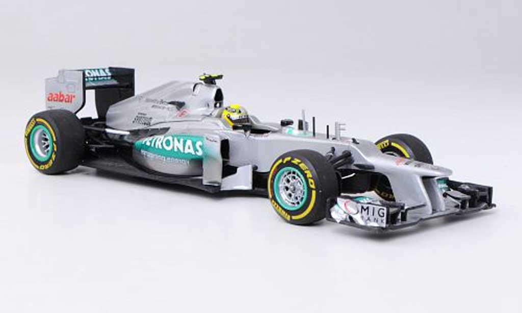 Mercedes F1 2012 1/43 Minichamps AMG Petronas W03 No.8 N.Rosberg -Saison miniature