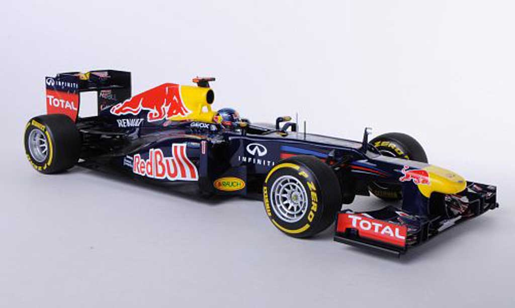 Red Bull F1 2012 1/18 Minichamps Renault RB8 No.1 S.Vettel diecast model cars