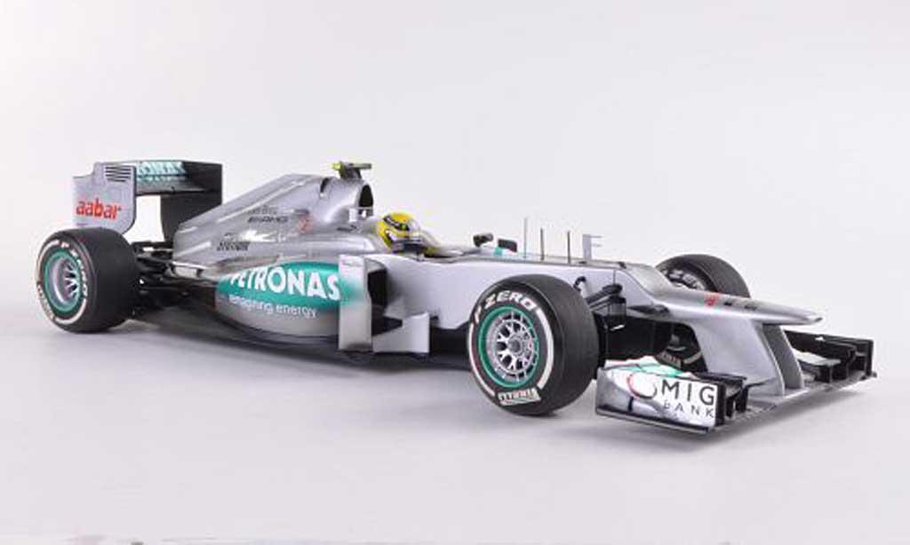 Mercedes F1 2012 1/18 Minichamps Team W03 No.8 AMG Petronas GP China N.Rosberg miniature