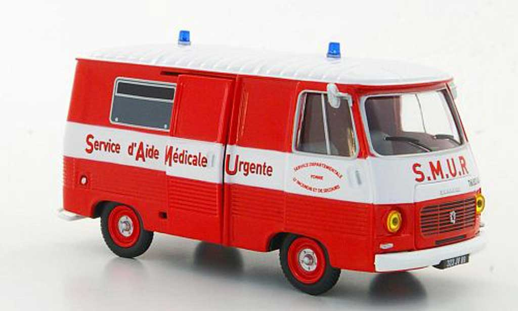 Peugeot J7 1/43 Eligor Service d'Aide Medicale Urgente miniature