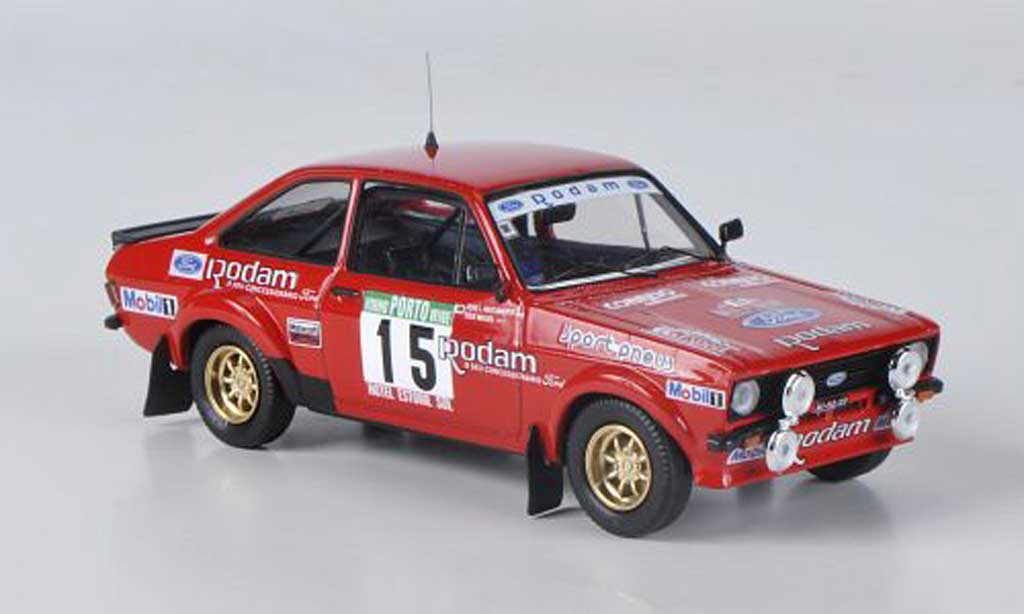 Ford Escort MK2 1/43 Mini Partes No.15 Rodam J.Miguel / J.L.Nascimento Rally Portugal 1985
