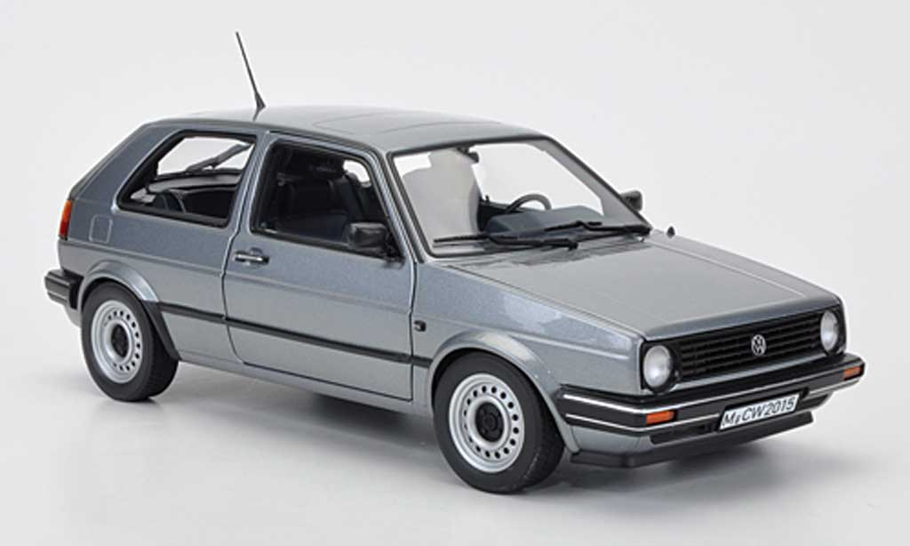 Volkswagen Golf 2 1/18 Norev CL grise Sondermodell MCW 1987 miniature