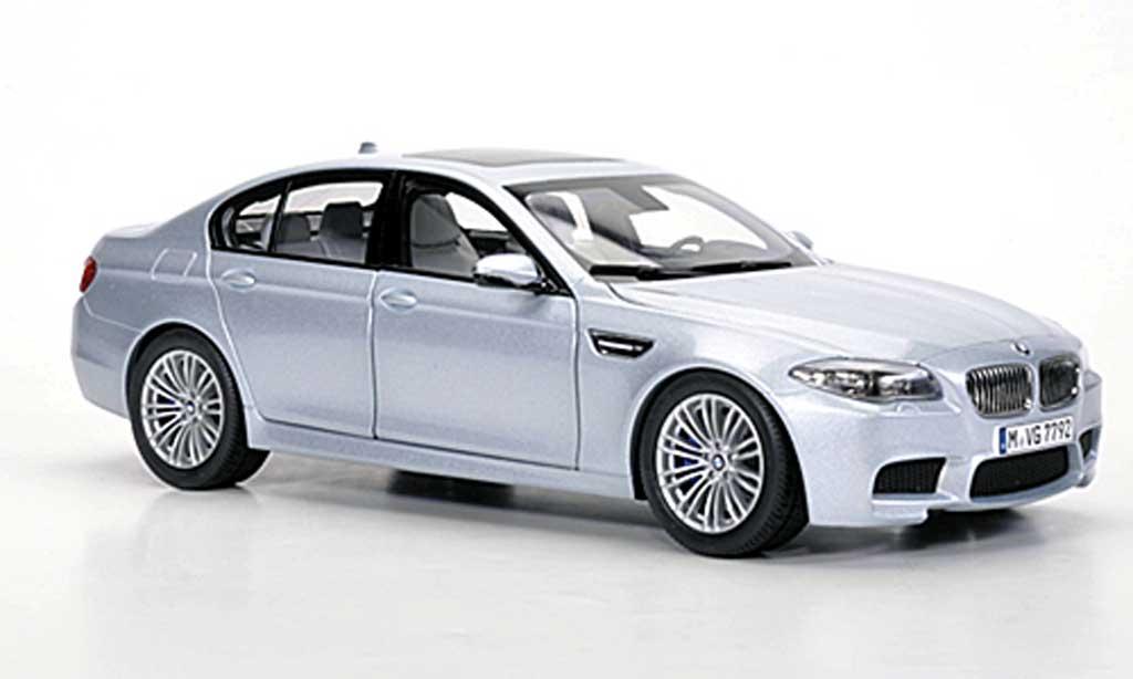 Bmw M5 F10 1/18 Paragon grey metallisee bleu 2012 diecast model cars