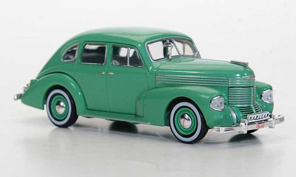 Opel Kapitan 1/43 Hachette grun (ohne Magazin) 1938 miniature