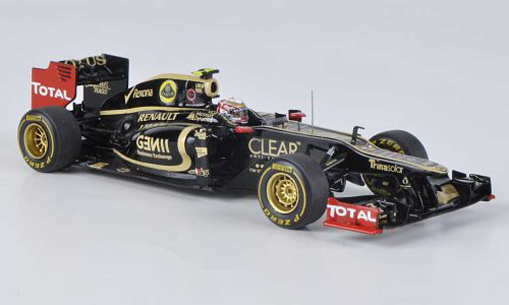 Lotus F1 2012 1/43 Spark E20 No.10 R.Grosjean GP Monaco miniature