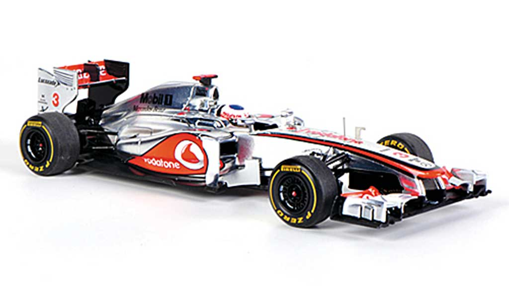 mclaren f1 2012 miniature mp4 27 no 3 vodafone j button gp australien spark 1 43 voiture. Black Bedroom Furniture Sets. Home Design Ideas