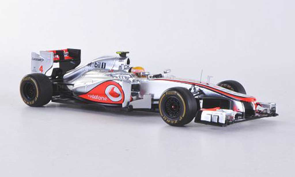 McLaren F1 2012 1/43 Spark 2012 MP4-27 No.4 Vodafone L.Hamilton GP Monaco diecast model cars