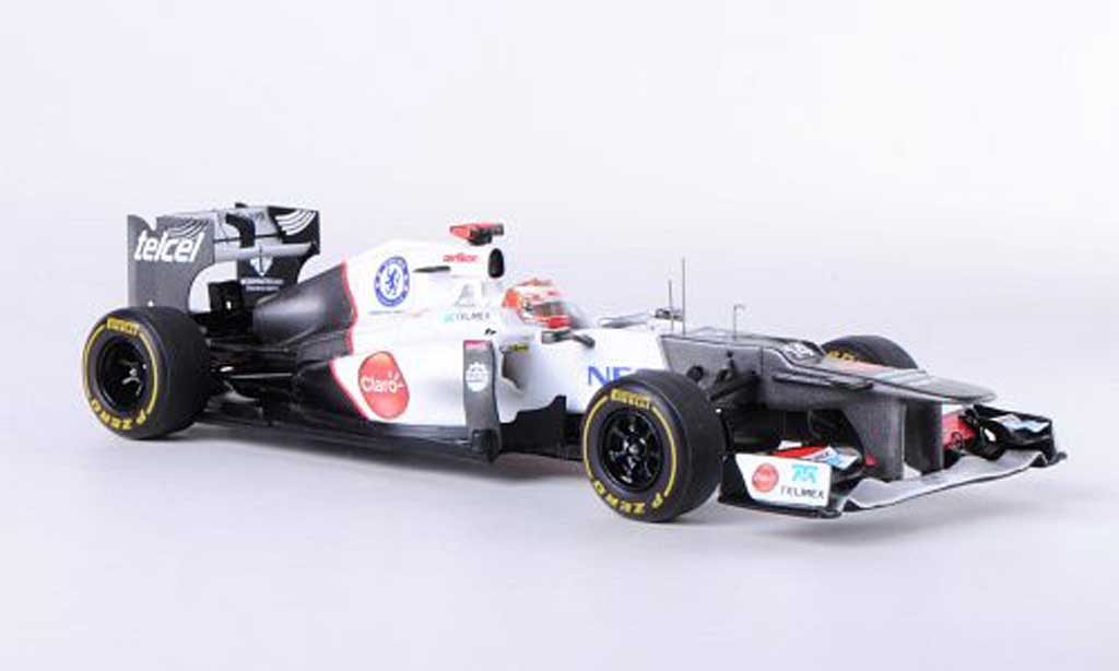 Sauber F1 2012 1/43 Spark C31 - Ferrari No.14 K.Kobayashi GP Monaco coche miniatura