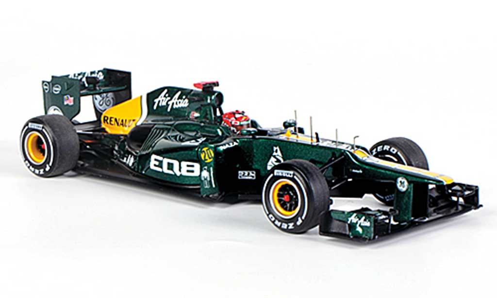 Caterham F1 CT01 2012 1/43 Spark No.20 H.Kovalainen GP Malaysia 2012 diecast model cars