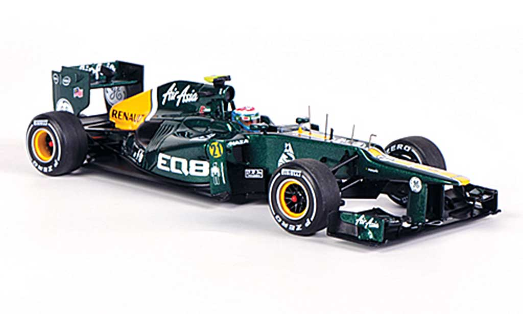 Caterham F1 CT01 2012 1/43 Spark No.21 V.Petrov GP Malaysia 2012 diecast model cars