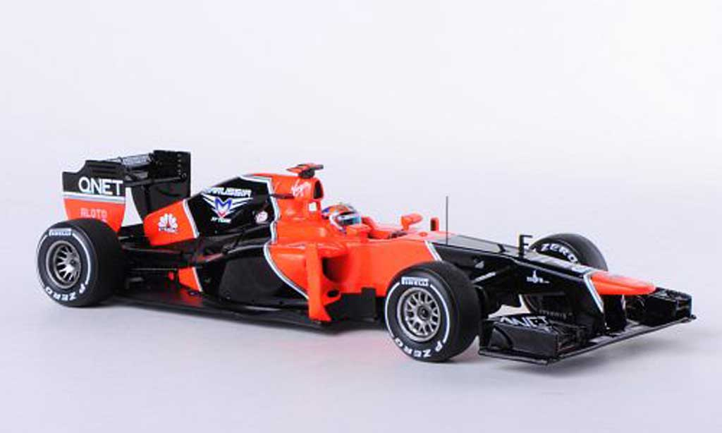 Marussia MR01 1/43 Spark No.24 T.Glock GP China 2012 miniature