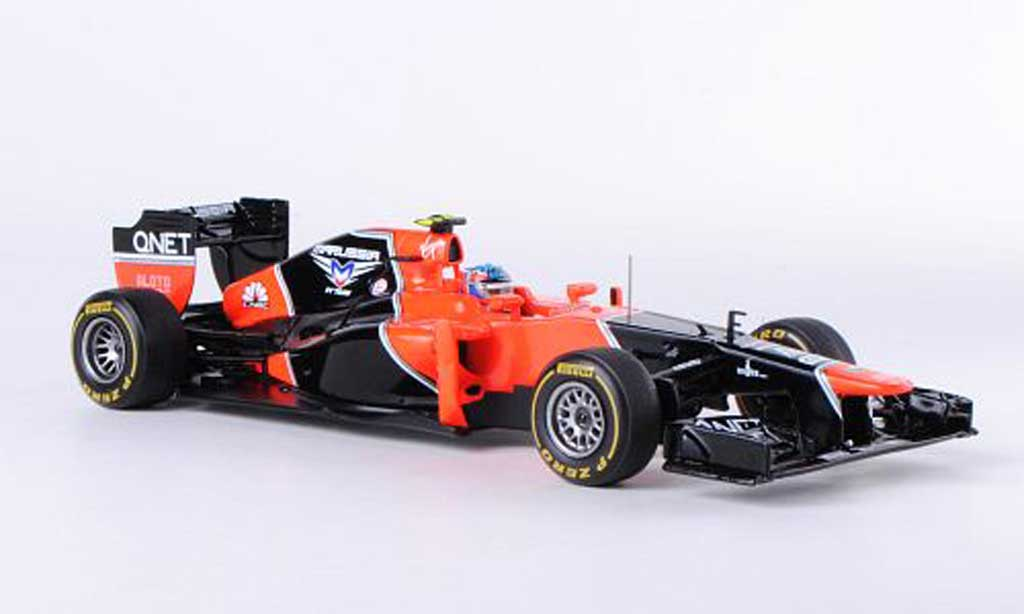 Marussia MR01 1/43 Spark No.25 C.Pic GP China 2012 miniature