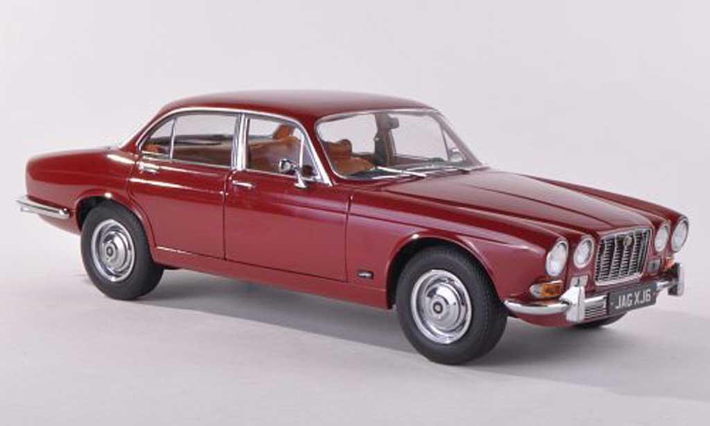 Jaguar XJ 6 1/18 Paragon Series 1 2.8 noire-rouge LHD  1971 miniature