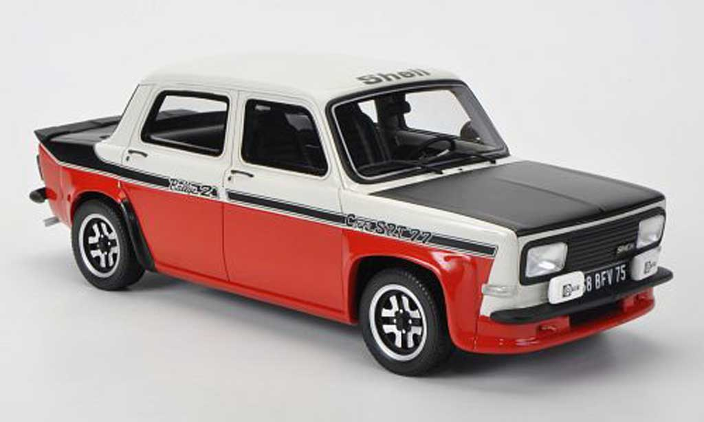 Simca 1000 1/18 Ottomobile Rally 2 Coupe SRT 77 white/red/mattblack diecast