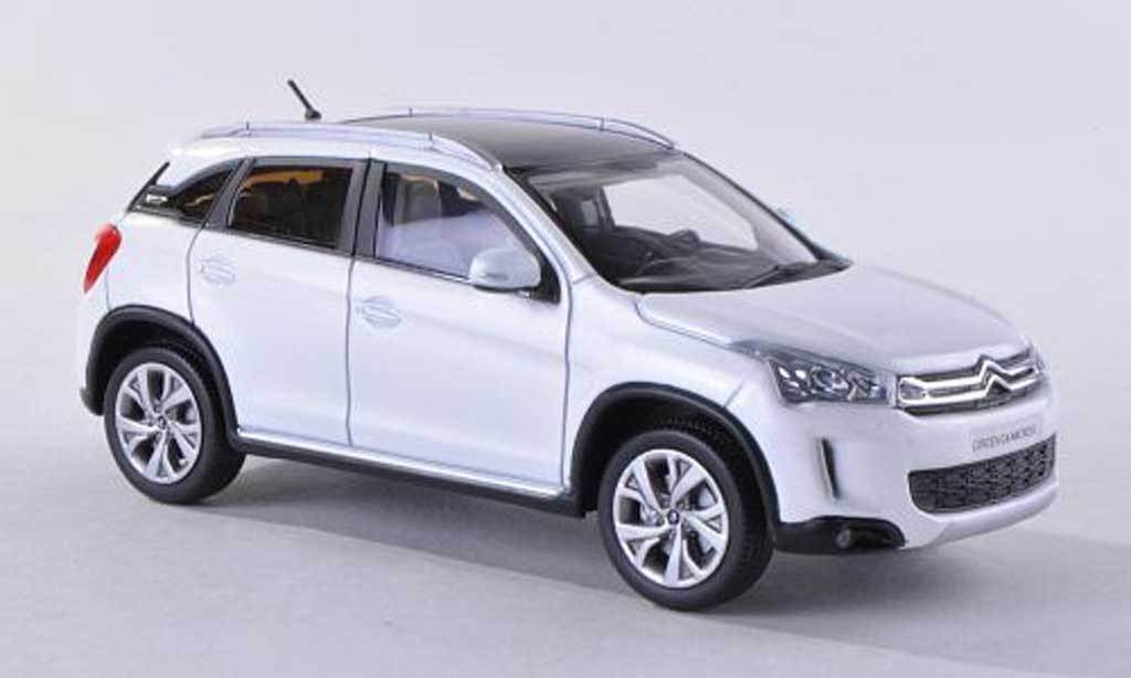 citroen c4 aircross miniature blanche 2012 norev 1 43 voiture. Black Bedroom Furniture Sets. Home Design Ideas