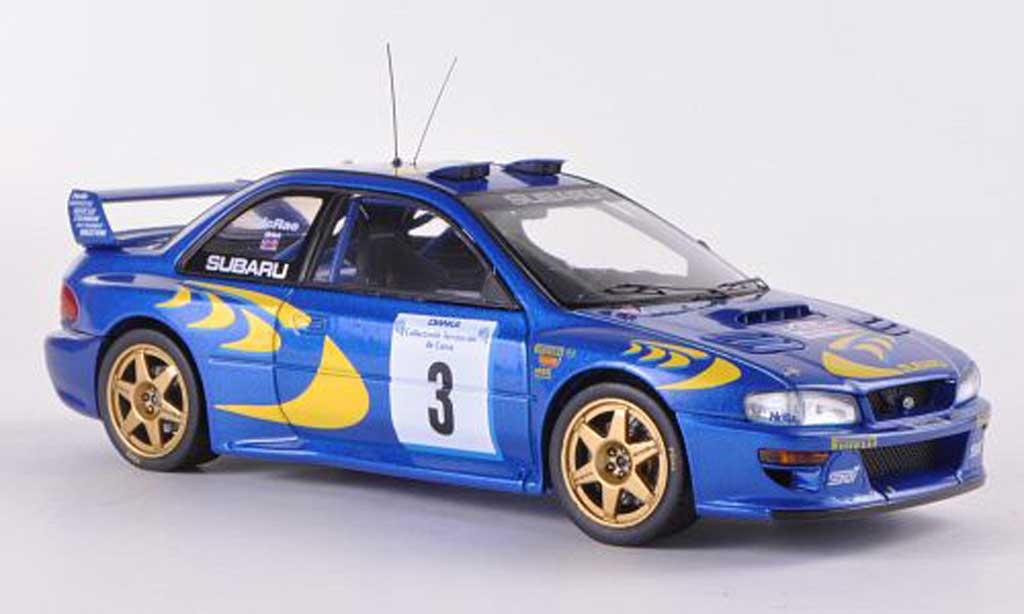 Subaru Impreza WRC 1/43 HPI Mirage 97 No.3 C.McRae /  N.Grist Tour de Corse  1997 miniature