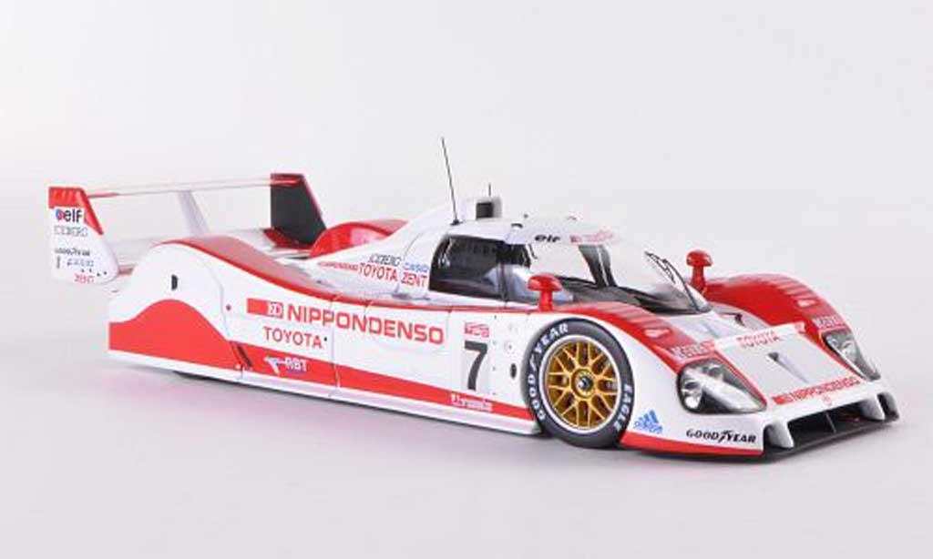Toyota TS010 1/43 HPI Mirage No.7 Team Tom s G.Lees / D.Brabham / U.Katayama 24h Le Mans  1992 miniature
