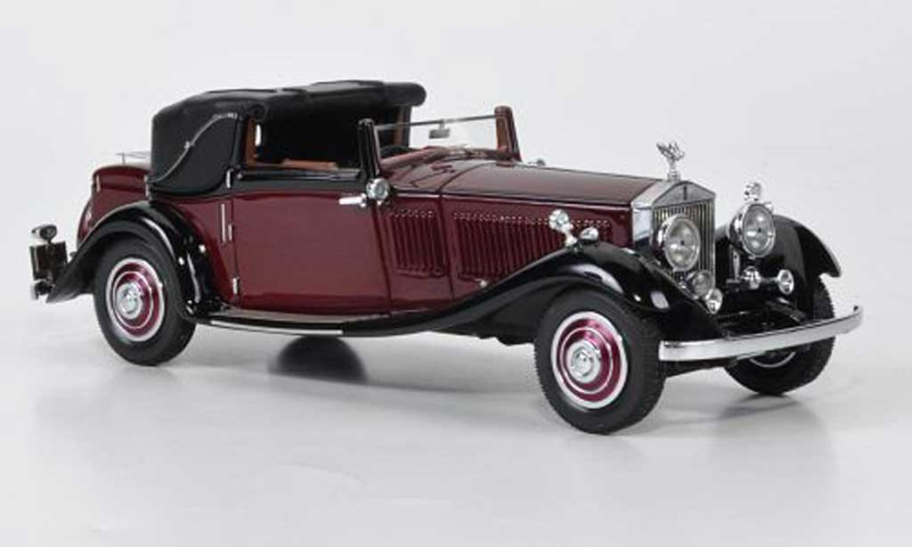 Rolls Royce Phantom 1934 1/43 Neo II Owen Sedanca Coupe J. Gurnney Nutting & Co. rouge/noire lim. Auflage 500 miniature