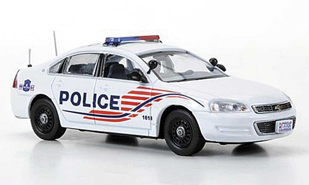chevrolet impala 2011 metropolitan police washington d c first response modellauto 1 43. Black Bedroom Furniture Sets. Home Design Ideas